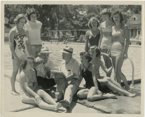 New M. S. Brown Photos Online: Tarboro Community  Pool, Swim Meets, Bathing Beauties and More