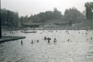 Lake Hideaway, ca. 1950s, the most popular photo on DigitalNC.org in 2014.