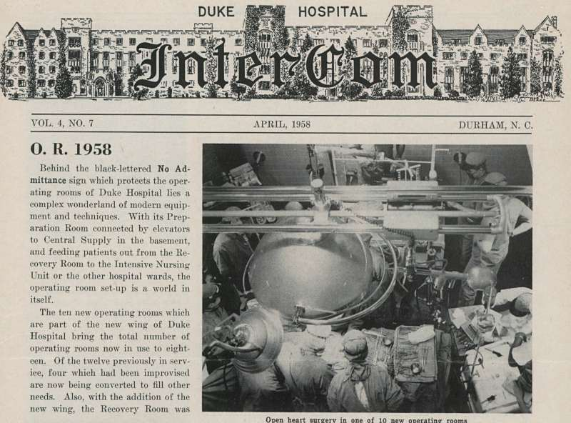 The InterCom, Newspaper of Duke University Medical Center, is Now Available Online