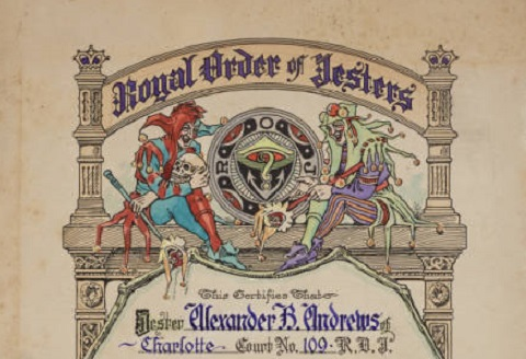 New material now online from the grand lodge of north for Royal order of jesters jewelry