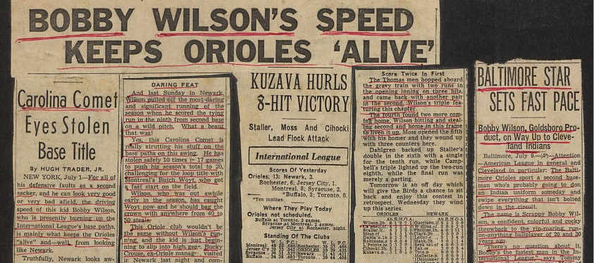 Scrapbooks from Minor League Baseball Player Bobby Wilson now Online