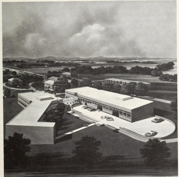 Cleveland County Technical Institute Campus, 1973