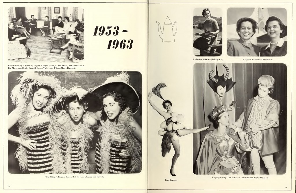The Junior League of Winston-Salem - 50th Anniversary Newssheet