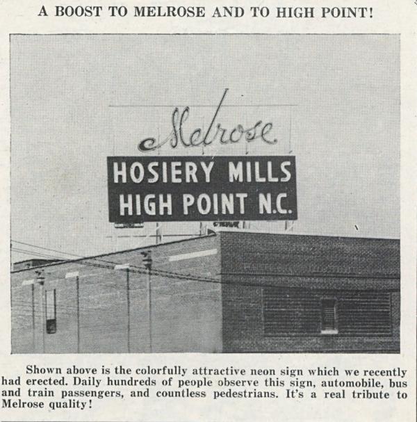 Mel-Rose-Glen, September 1949