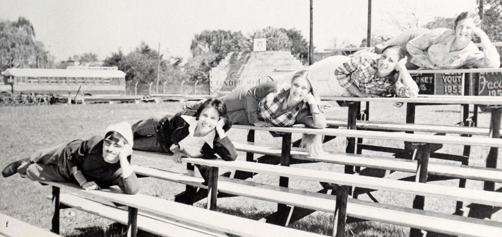 From The Boulder, Granite Falls High School, 1977.