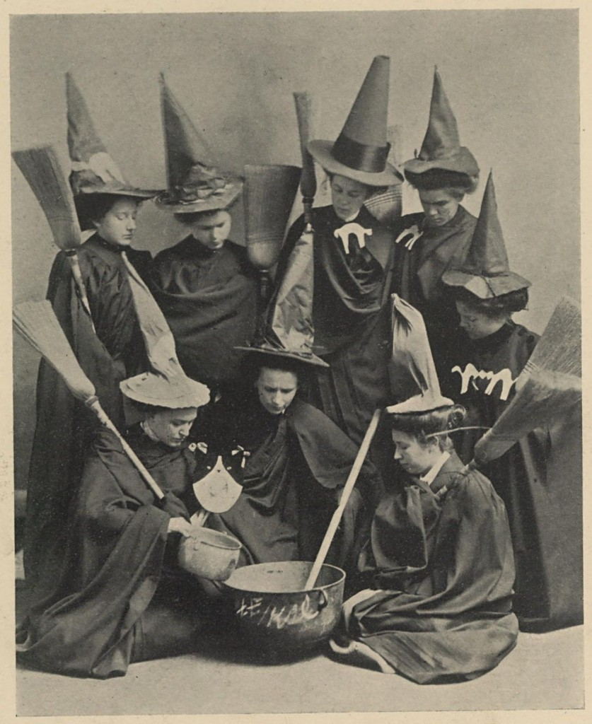 Witches Club, Presbyterian College for Women, 1910.
