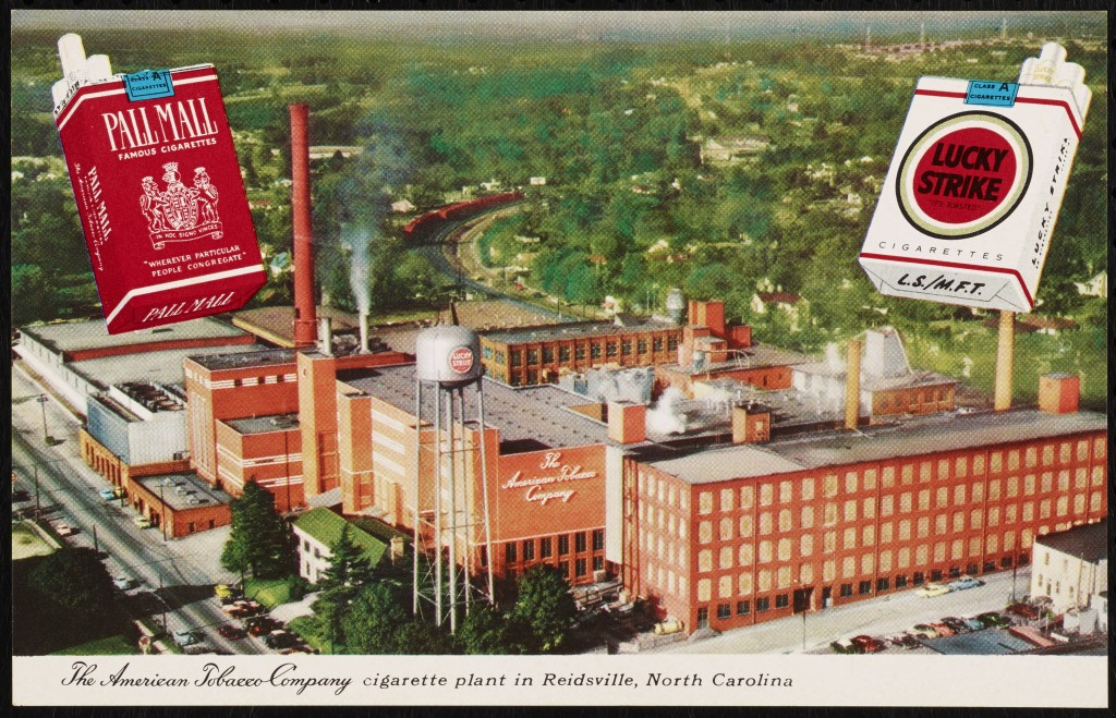 American Tobacco Company plant in Reidsville NC