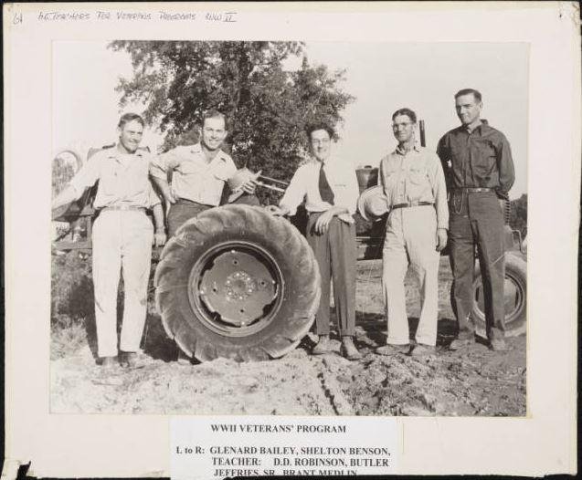 World War II Veterans' Program