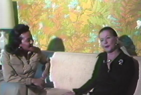 Cynthia Watts interviews Joan Bennett