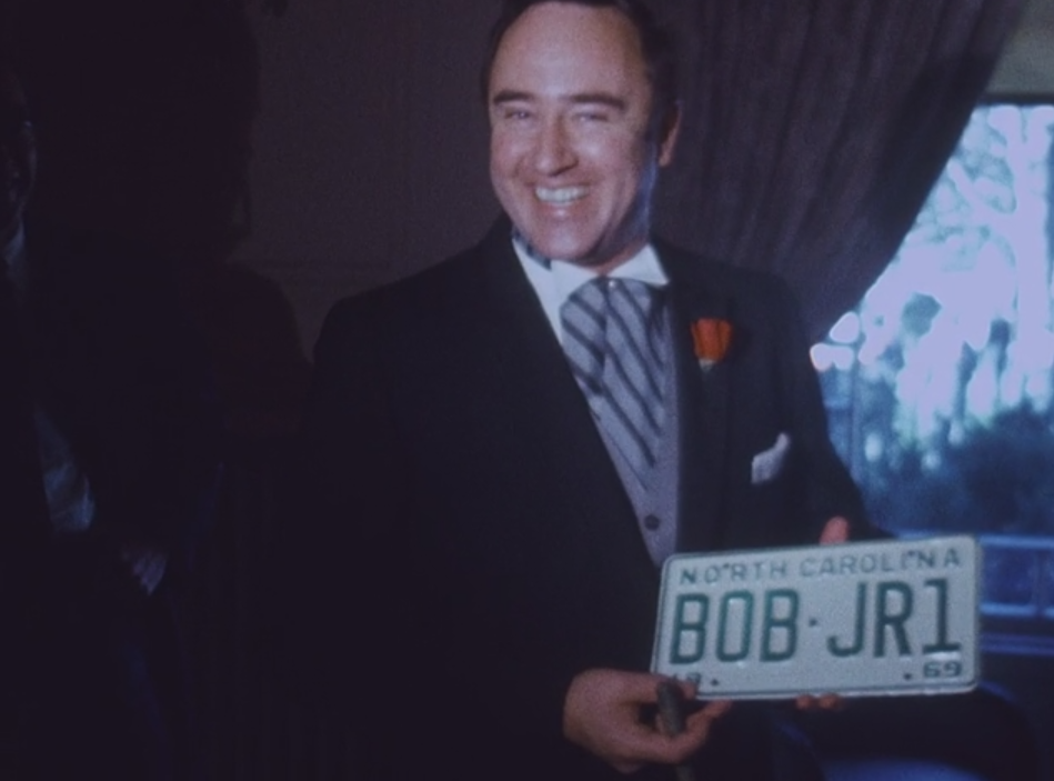 Governor Scott Receives His License Plate