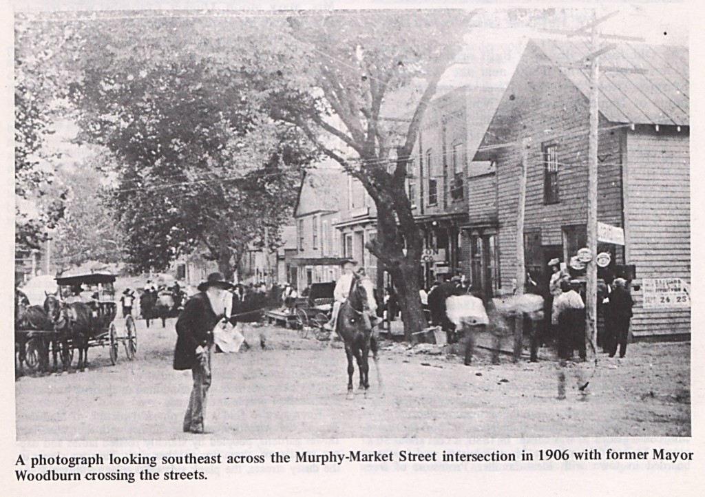 From the booklet celebrating the 150th year of Madison, NC.