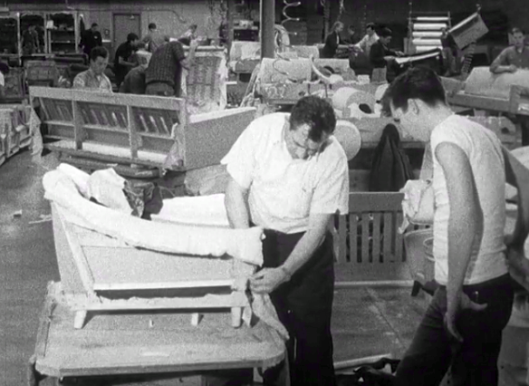 Film still from Welcome to Work