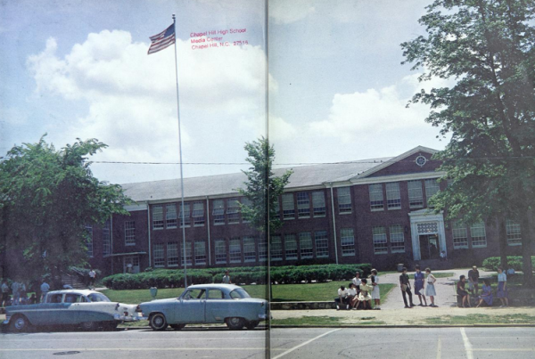 Chapel Hill High School, 1963.