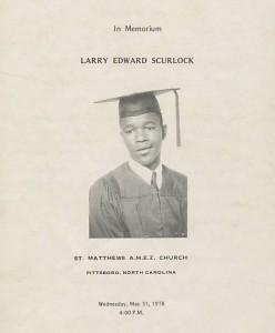 In Memorium Larry Edward Scurlock