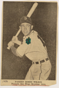 Scrapbook for Bobby Wilson, Minor League Baseball Player, Added to DigitalNC
