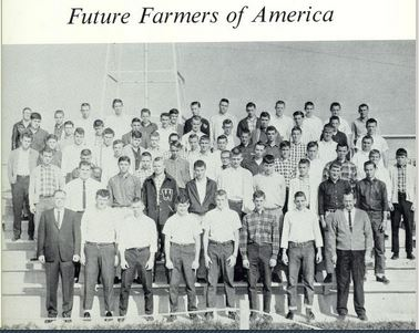 Future Farmers of America, West Stanly High School 1965