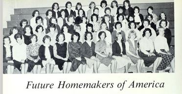 Future Homemakers of America, West Stanly High School 1965