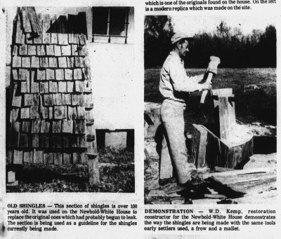 Excerpt from the November 28, 1974 issue of The Perquimans Weekly