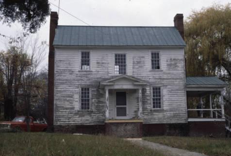 Aiken Pratt House, Exterior View, 1981