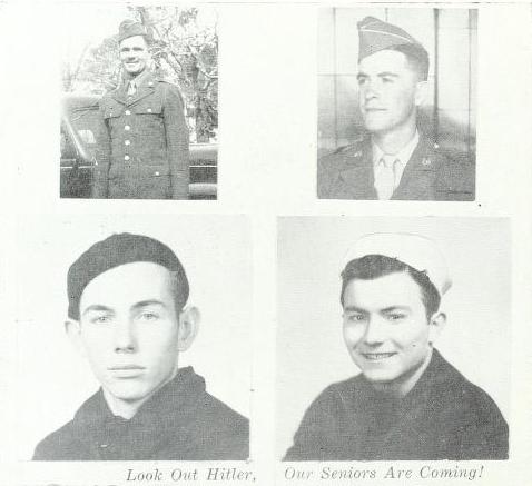 B. F. Grady High School 1945