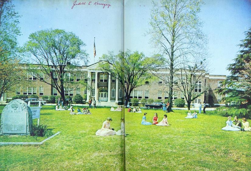B. F. Grady High School 1960