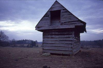 Corn Crib at Locust Point, 1980