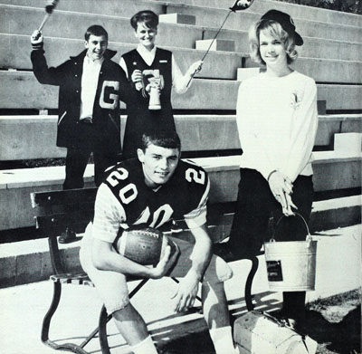 Photo from the 1965 Yell-O-Jack Yearbook