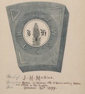 Mark of J.H. Mullins