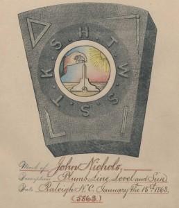 Mark of John Nichols