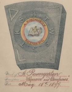 Mark of A. Rosengarten
