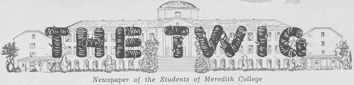 New Issues Complete Meredith College Student Newspapers