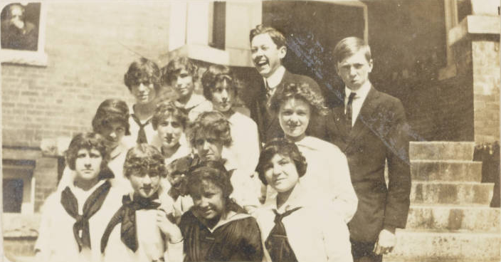 From Henderson High School yearbook, 1914.