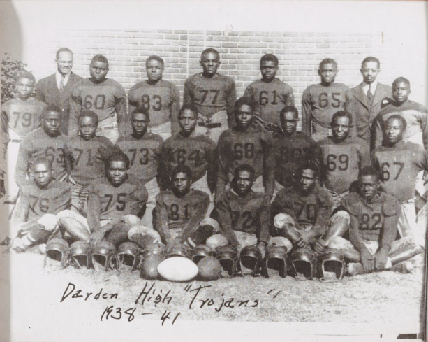 "Darden High ""Trojans"" 1938-1941"
