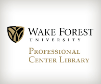 Wake Forest University Professional Center Library