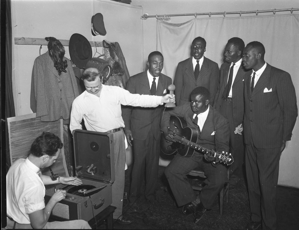 Charlie Barnet and his Gospel Stars, Shared by UNC-Charlotte's Atkins Library.