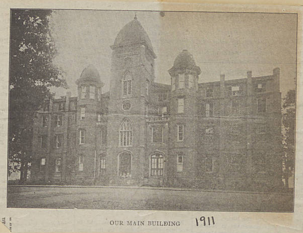 The Oxford Orphan Asylum in 1911, from Hays Scrapbook Vol. 98: Oxford Orphanage.