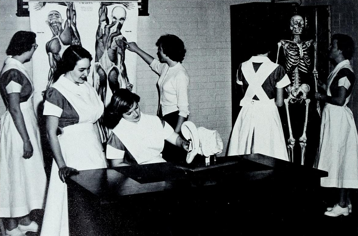 New Yearbooks from the High Point Public Library Give Glimpse of the Nursing Profession