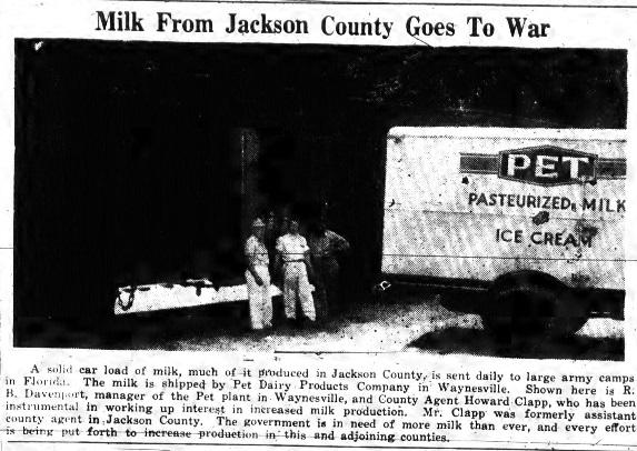 Jackson County Milk
