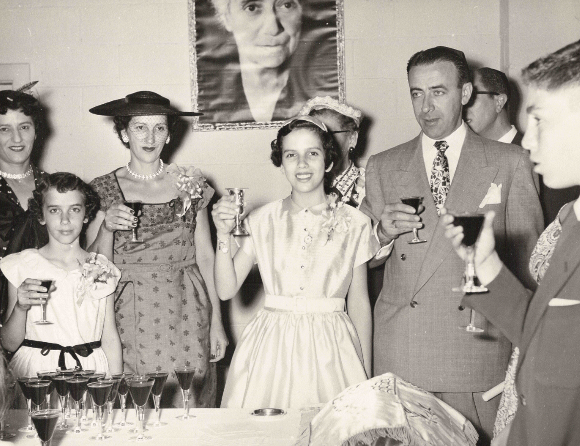 Kraft Family Bat Mitzvah Celebration. 1954