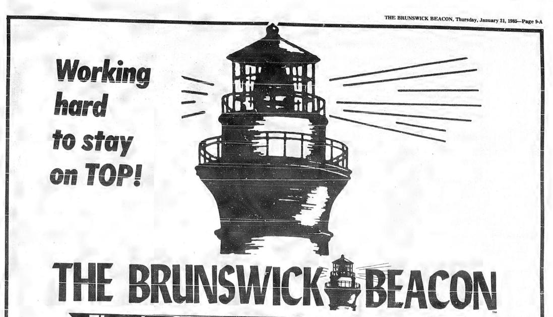The Brunswick Beacon, January 31, 1985, page 9A