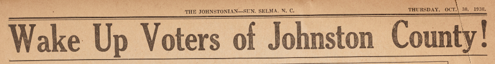 20 Years of the Johnstonian-Sun Now Available on DigitalNC