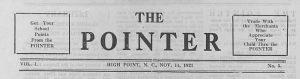 High Point High School newspapers now online