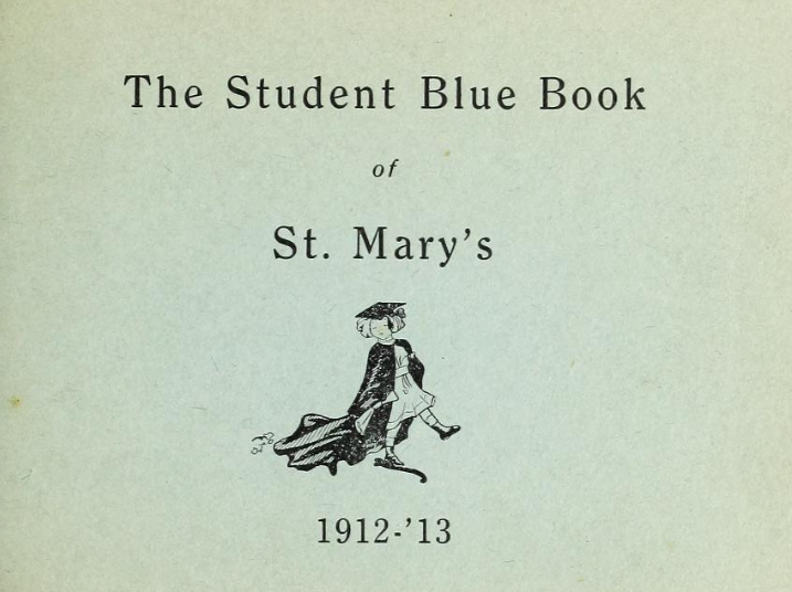 Saint Mary's Student Blue Books now online
