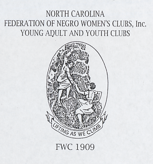 Constitution and By-Laws of North Carolina Federation of Negro Women's Clubs, Young Adult and Youth Clubs, Inc.; Page 1