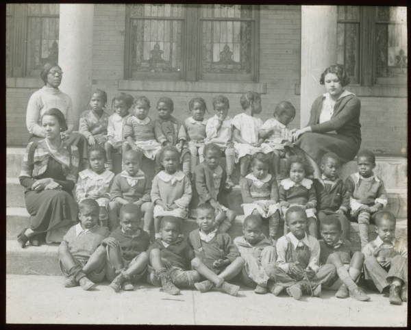 A view into school segregation: Durham City Schools Slide Collection now online