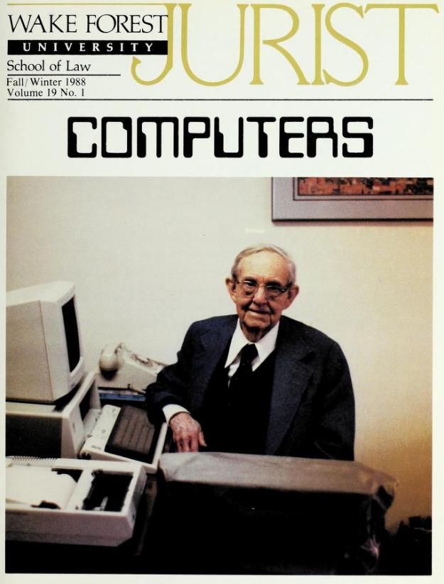 Wake Forest University Jurist [Fall 1988], page 1