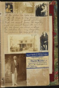 Journals, Photos, and a Scrapbook from Davie County Public Library