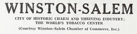 World War II era Winston-Salem city directories now online