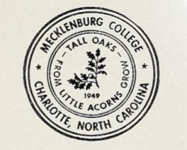 Mecklenburg College Annual Catalogue [1962-1963], page 2