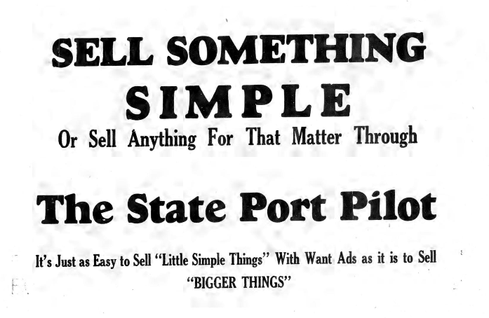 The State Port Pilot, May 8, 1935, page 4